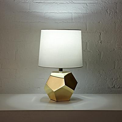 Table_Lamp_Gold_Geometric_ON