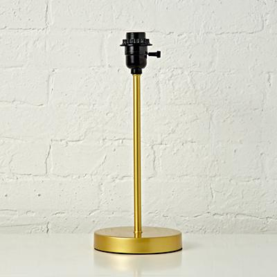 Mix and Match Gold Table Lamp Base