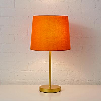 Table_Lamp_Mix_Match_Base_Gold_Shade_Orange_ON