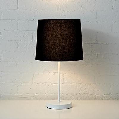 Table_Lamp_Mix_Match_Base_White_Shade_Black_ON