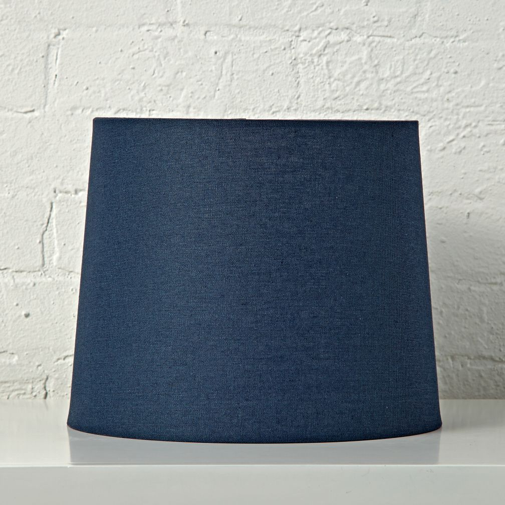 Mix and Match Dark Blue Table Lamp Shade