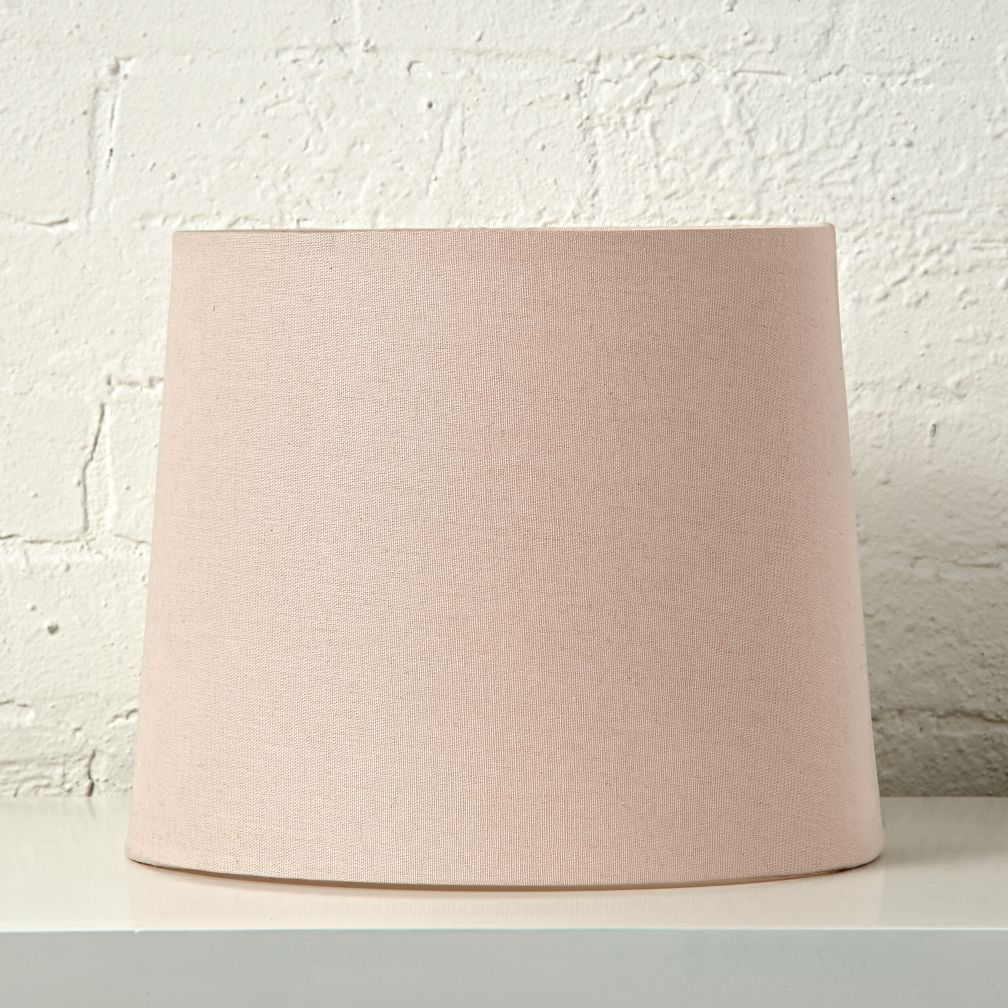 Mix and match light pink table lamp shade the land of nod geotapseo Image collections