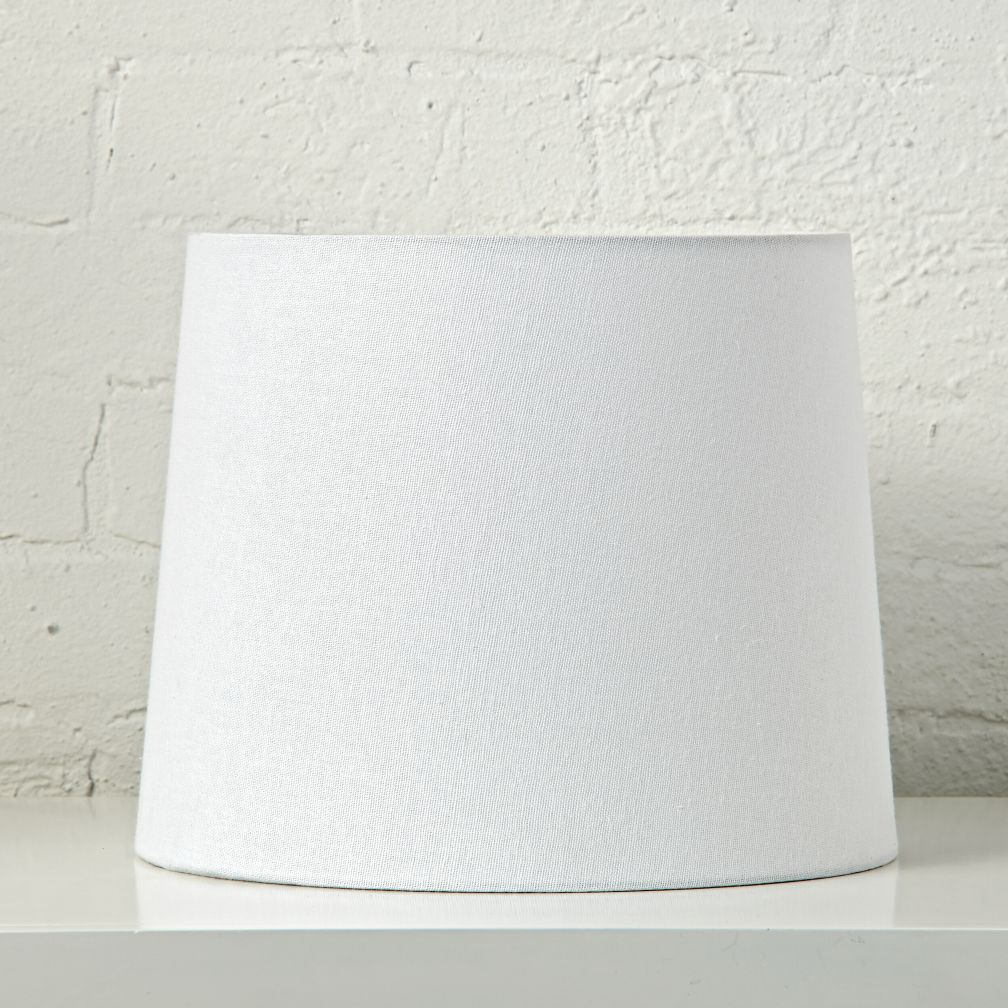 Mix and match white table lamp shade the land of nod geotapseo Images