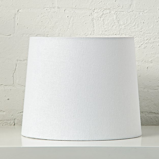 Mix and Match White Table Lamp Shade