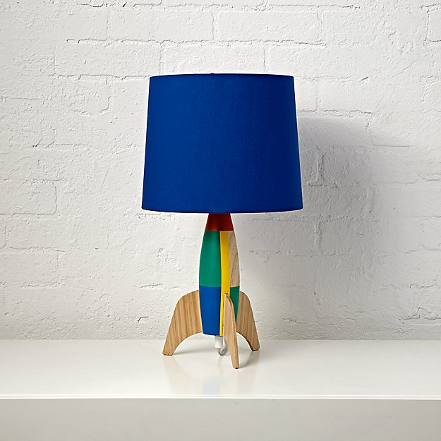 Rocket Table Lamp