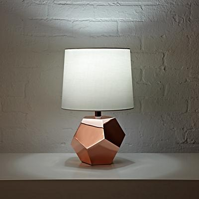 Table_Lamp_Rose_Gold_Geometric_ON