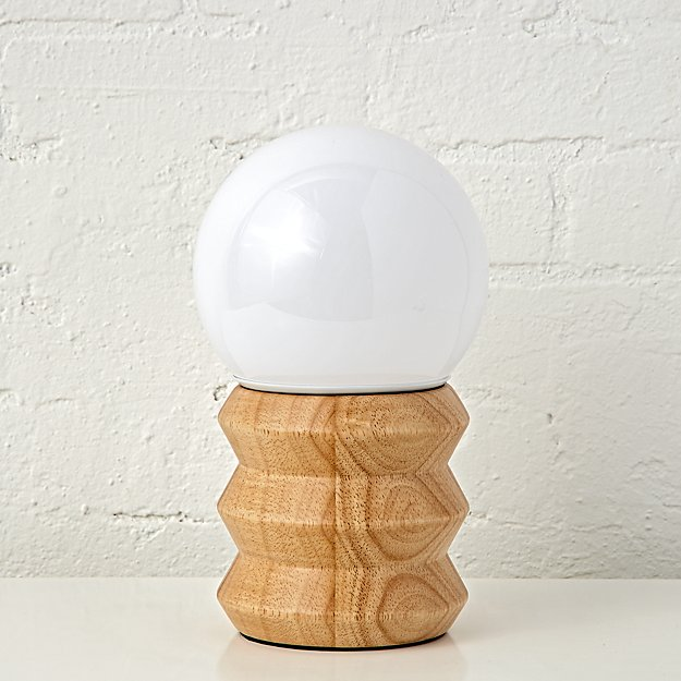 Contemporary Shadeless Table Lamp