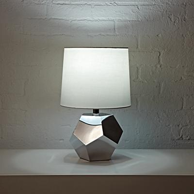Table_Lamp_Silver_Geometric_ON