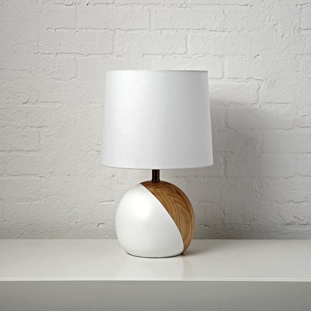 Kids table bedside lamps the land of nod split circle table lamp geotapseo Choice Image