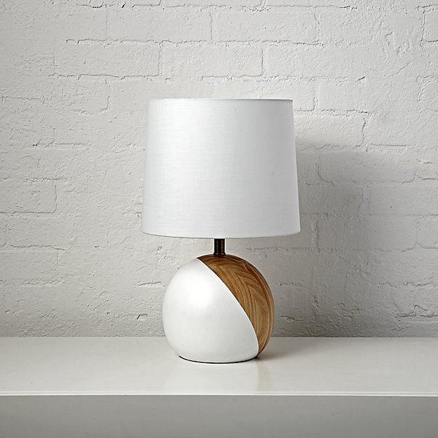 Split Circle Table Lamp