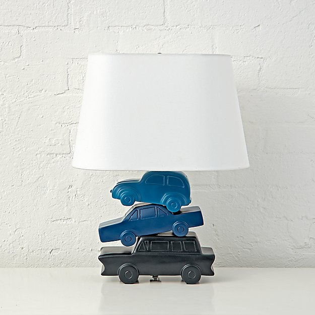 Stacked Cars Lamp