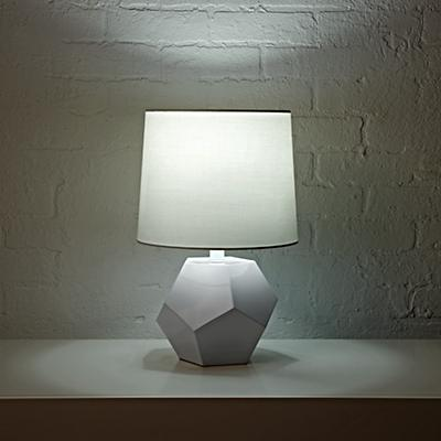 Table_Lamp_White_Geometric_ON