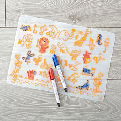 Table_Mat_Doodle_ABC_Animals