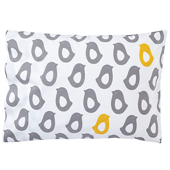 Organic Not a Peep Chick Toddler Pillowcase