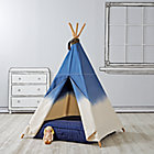 Dip Dye Denim Teepee & Cushion Set