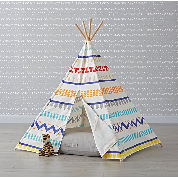 Fair Isle Teepee and Cushion Set