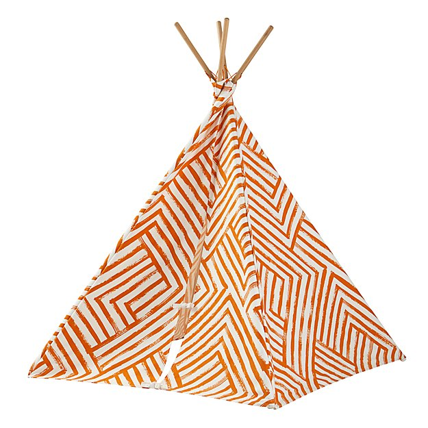 A Teepee To Call Your Own (Orange Maze)