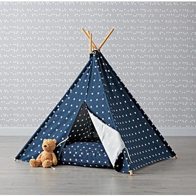 Teepee_Navy_Cross_Print_Cushion_Set