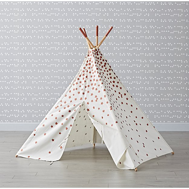 Rose Gold Star Teepee
