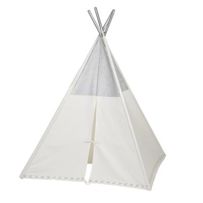 A Teepee to Call Your Own (Silver Metallic)