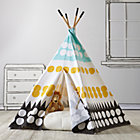 Multi Dot A Teepee & Cushion  to Call Your Own Set