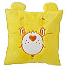 Throw_Pillow_Care_Bears_Furry_Yellow_Silo