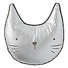 Throw_Pillow_Cat_Metallic_Silver