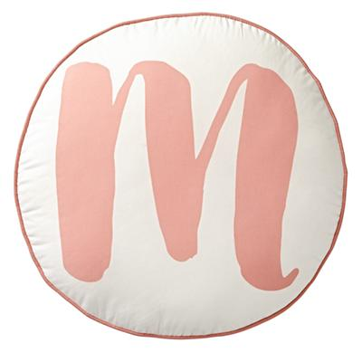 Throw_Pillow_Lovely_Letter_M_Pink