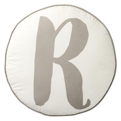 Throw_Pillow_Lovely_Letter_R_Grey