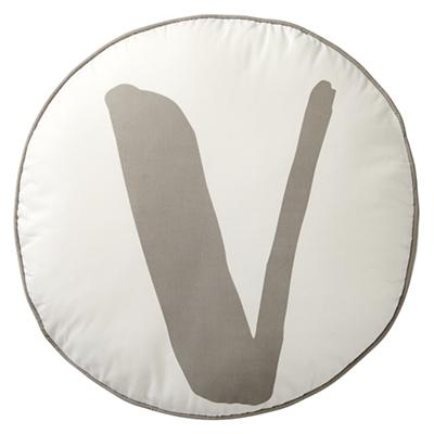 Throw_Pillow_Lovely_Letter_V_Grey