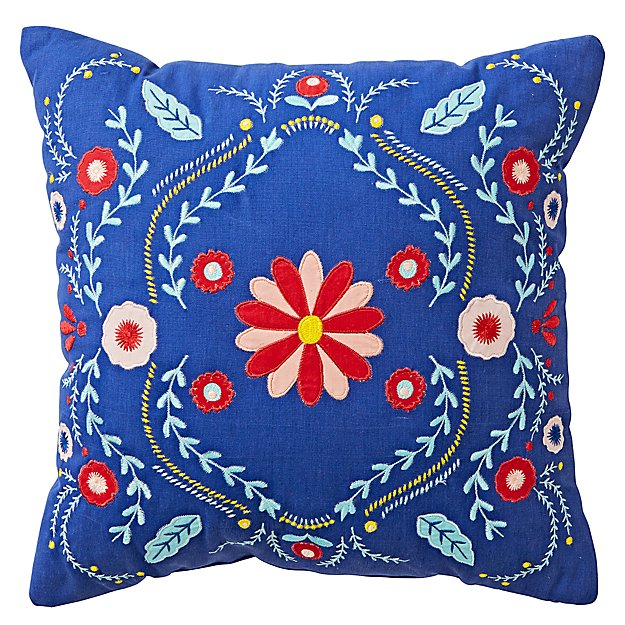Baja Garden Throw Pillow