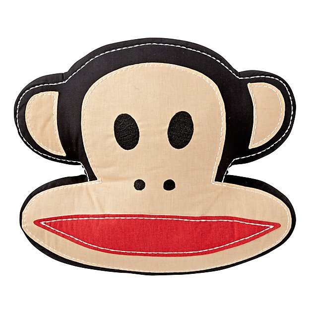 Paul Frank Julius Monkey Throw Pillow