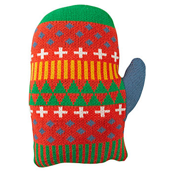 Snow Day Mitten Pillow