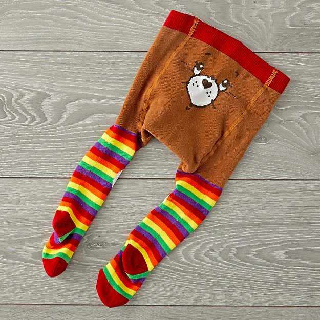Baby Bling Care Bears Striped Tights