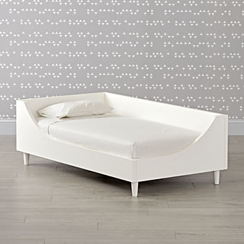 Hampshire White Toddler Bed