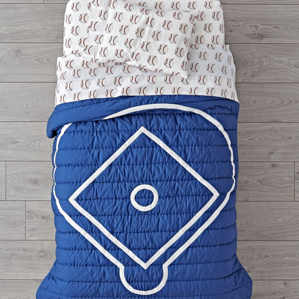 Nod Baseball Toddler Bedding