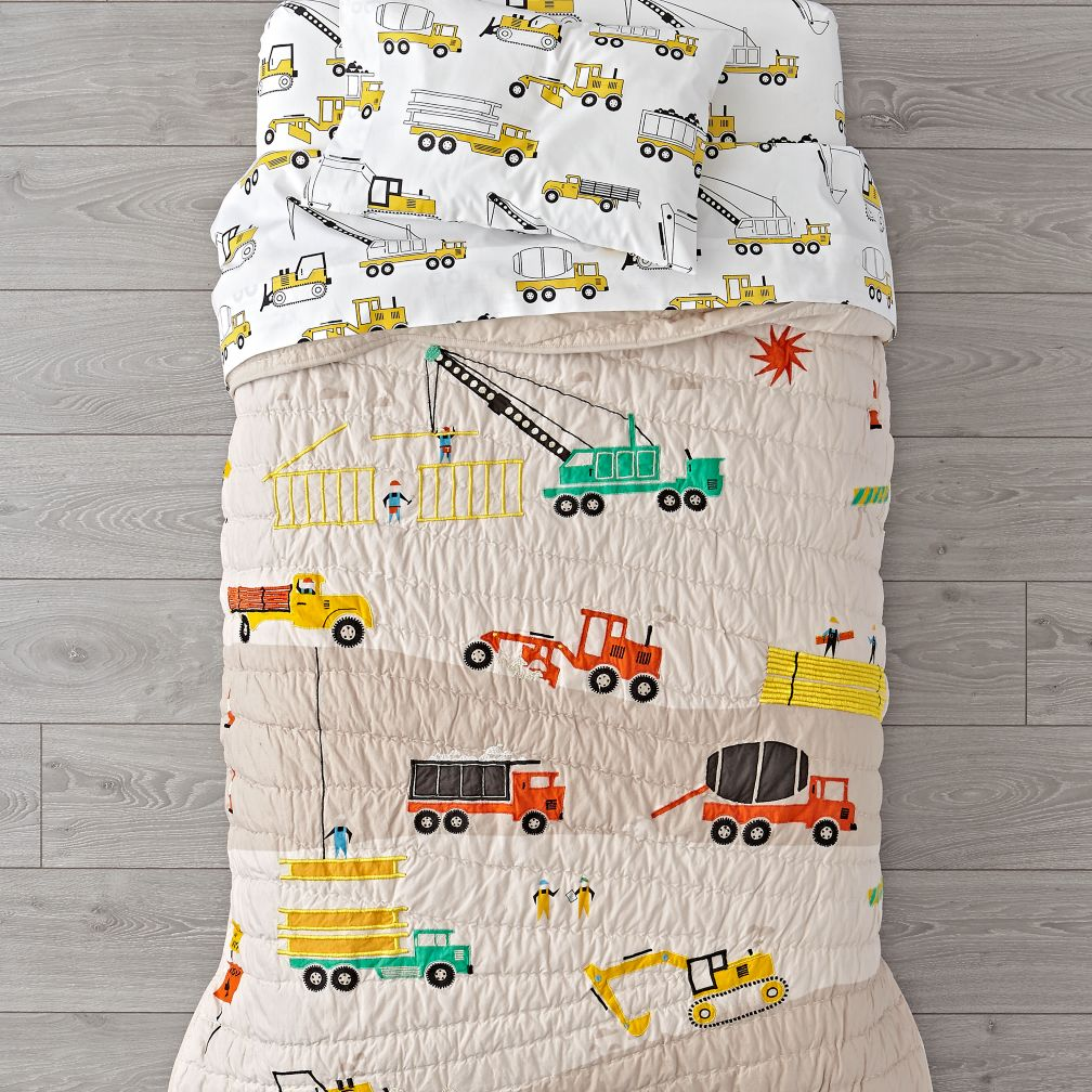 Builder's Toddler Bedding
