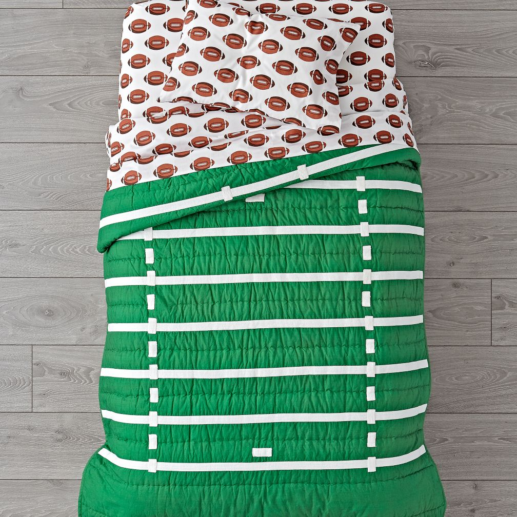 Nod Football Toddler Bedding
