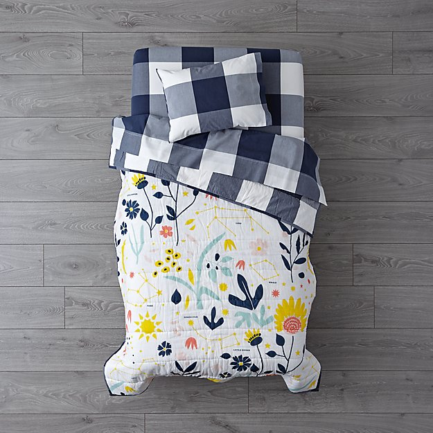 Genevieve Gorder Floral Toddler Bedding