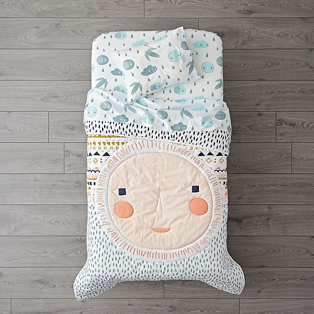 Night and Day Toddler Bedding