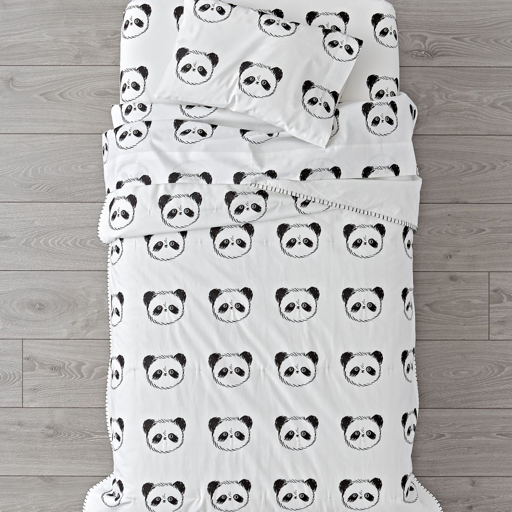 Panda Toddler Bedding