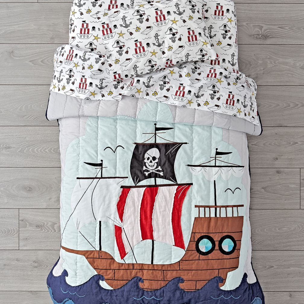 Pirate Toddler Bedding