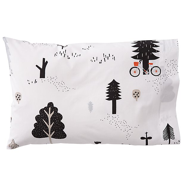 Organic Forest Friends Toddler Pillowcase