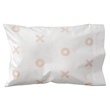 Organic Little Angel XOXO Toddler Pillowcase