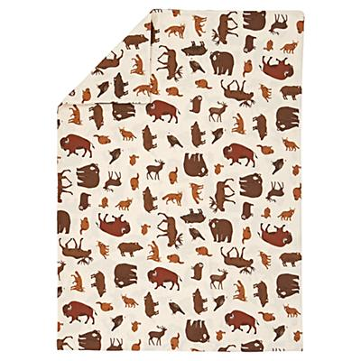 Toddler_Duvet_Cover_Flannel_Animal_Brown_Silo