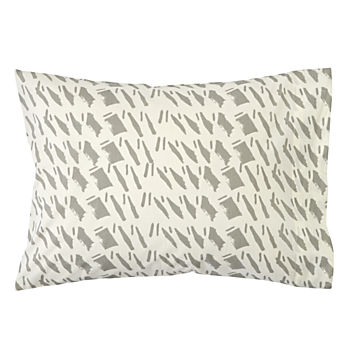 Organic Daily Sketch Grey Toddler Pillowcase