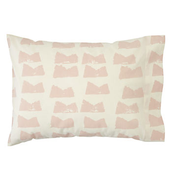 Organic Daily Sketch Pink Toddler Pillowcase