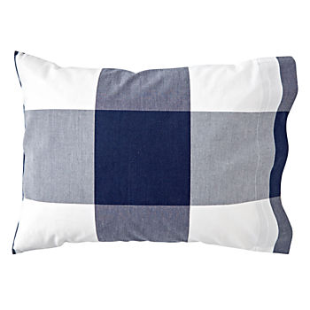 Genevieve Gorder Organic Plaid Toddler Pillowcase