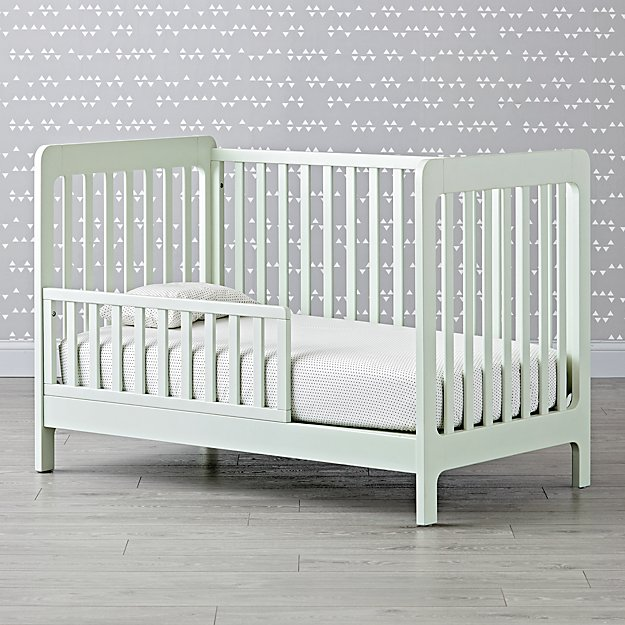 Carousel Mint Toddler Rail
