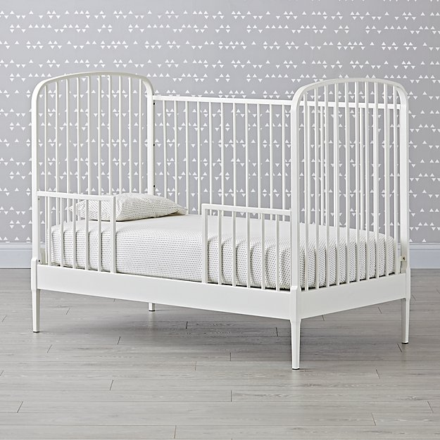 Larkin White Toddler Rail